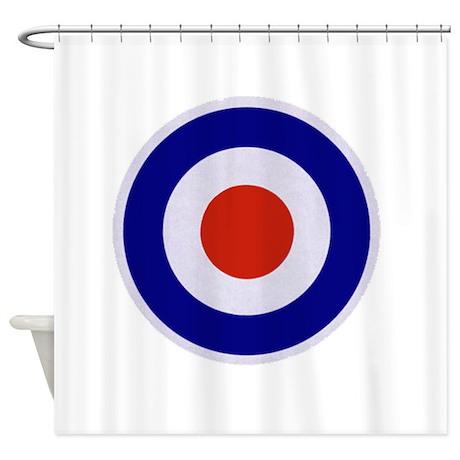Mod Target Shower Curtain