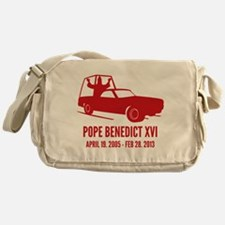 Pope Benedict Retirement Messenger Bag