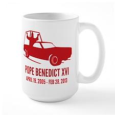 Pope Benedict Retirement Mug