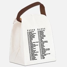 Hold 'Em Hands Canvas Lunch Bag