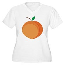 Peach Plus Size T-Shirt