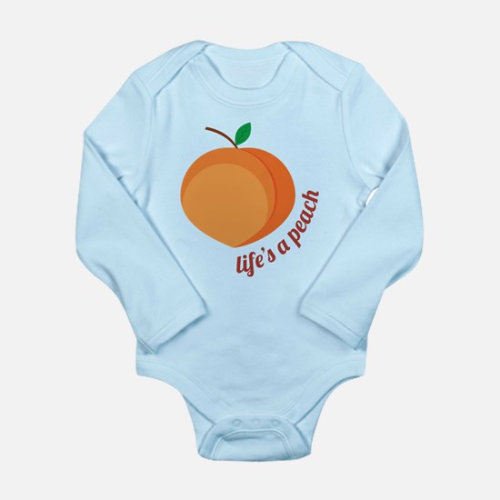 Life's a Peach Body Suit