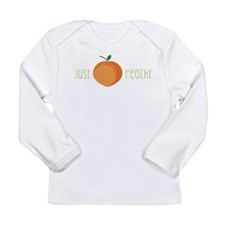 Just Peachy Long Sleeve T-Shirt