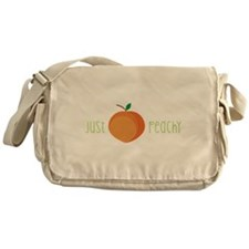 Just Peachy Messenger Bag