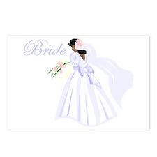 Bride African American Postcards (Package of 8)