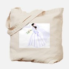 Bride African American Tote Bag