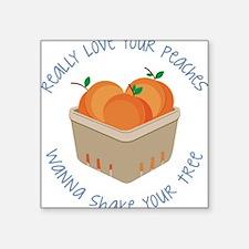 Love Your Peaches Sticker
