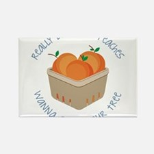 Love Your Peaches Rectangle Magnet