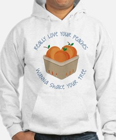 Love Your Peaches Hoodie