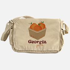 Georgia Peach Messenger Bag