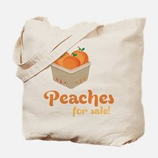 Peaches For Sale Tote Bag