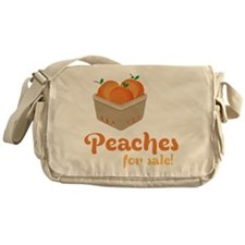 Peaches For Sale Messenger Bag