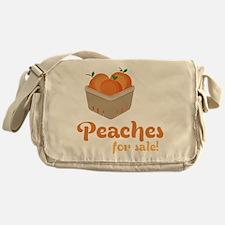 Peaches For Sale Messenger Bag