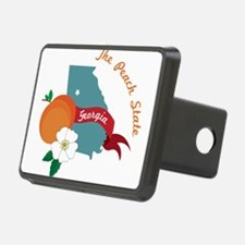 The Peach State Hitch Cover