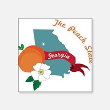 The Peach State Sticker