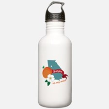 Georgia On My Mind Water Bottle