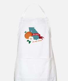 Georgia On My Mind Apron