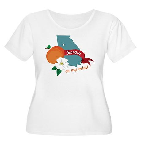 Georgia On My Mind Plus Size T-Shirt
