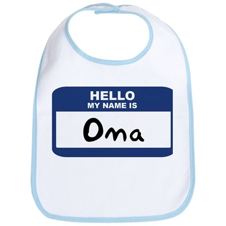 Hello: Oma Bib