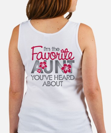 Favorite Aunt Women's Tank Top