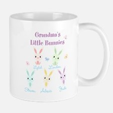Grandmas little bunnies custom Small Small Mug