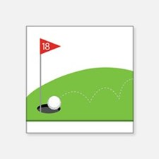 18th Hole Sticker