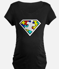 Autism is a Super Power Maternity T-Shirt