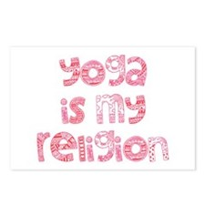 yoga religion Postcards (Package of 8)