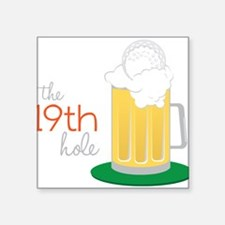 The 19th Hole Sticker