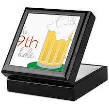 The 19th Hole Keepsake Box