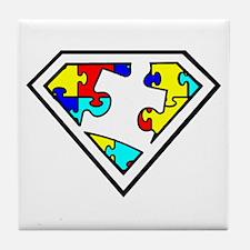 Autism is a Super Power Tile Coaster