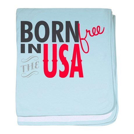 Born Free baby blanket