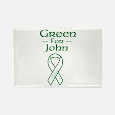 Green4john Rectangle Magnet