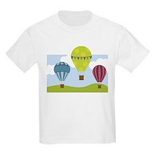 Hot Air Balloon Scene T-Shirt