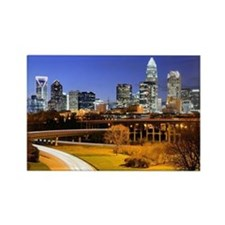 Financial District of Charlotte, North Carolina. -