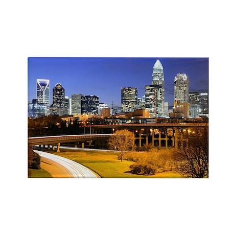 Financial District of Charlotte, North Carolina. -