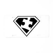 Autism is a Super Power Aluminum License Plate