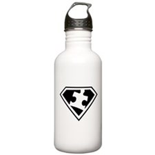 Autism is a Super Power Water Bottle
