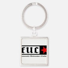 Famously Unknown Clothing Square Keychain