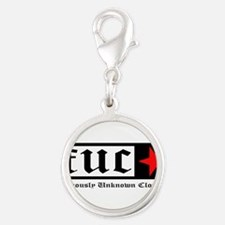 Famously Unknown Clothing Silver Round Charm
