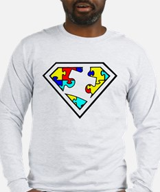 Autism is a Super Power Long Sleeve T-Shirt