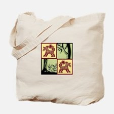Timber Tails Logo Tote Bag