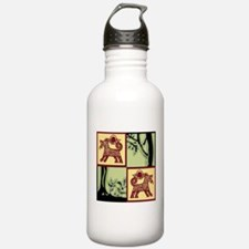 Timber Tails Logo Water Bottle