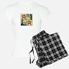 Timber Tails Logo Pajamas