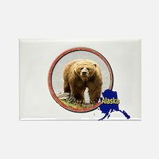 Alaska! Rectangle Magnet