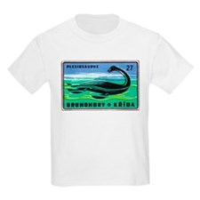 Plesiosaurus Czechoslovakian Matchbox Label T-Shir