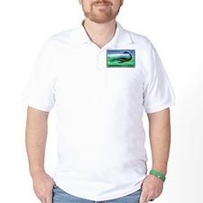 Plesiosaurus Czechoslovakian Matchbox Label T-Shirt