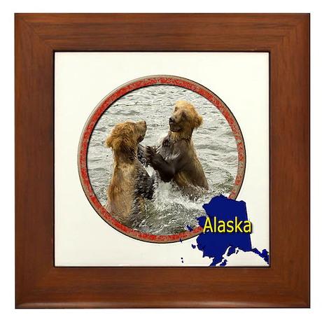 Alaska! Framed Tile