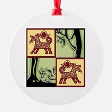 Timber Tails Logo Only Ornament