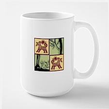 Timber Tails Logo Only Mug